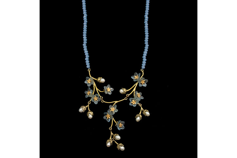 Michael Michaud: Forget-Me-Not Necklace