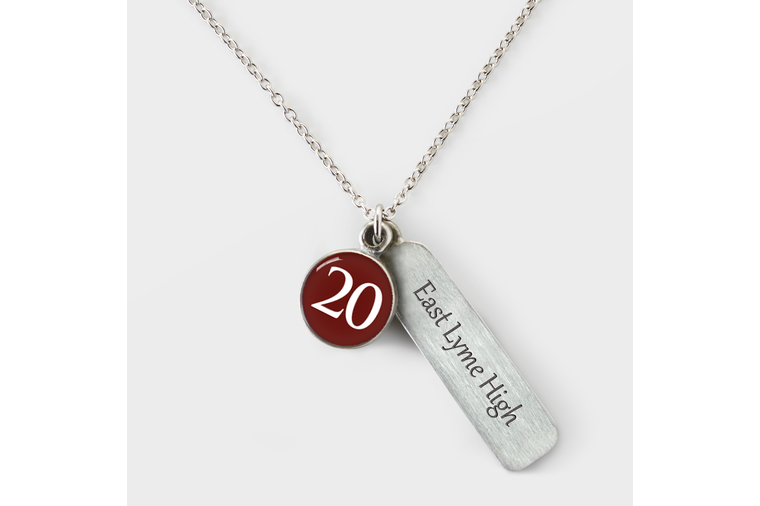 East Lyme Graduation Necklace 2020