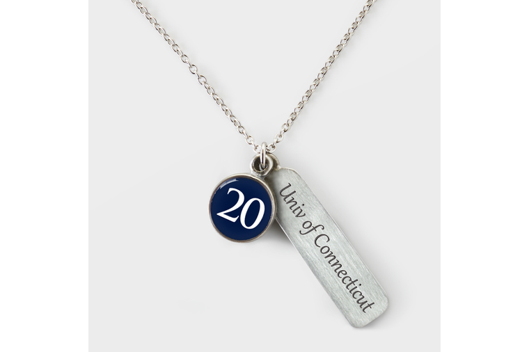 University of Connecticut Graduation Necklace 2020