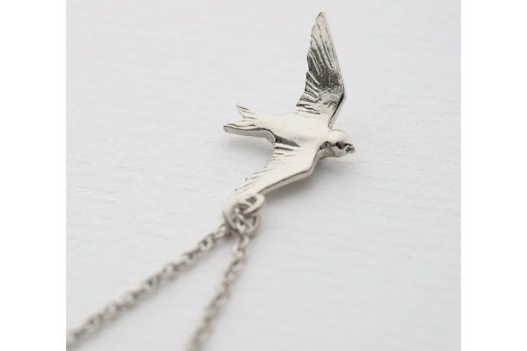 Flying Swallow Necklace