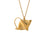 Stingray Necklace - Gold - Alex Monroe