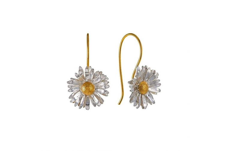 Alex Monroe - Big Daisy Earrings