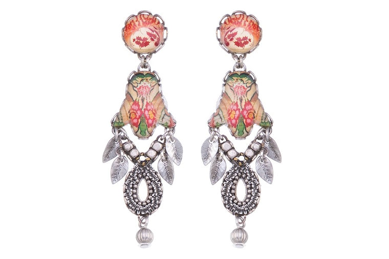 Ayala Bar: Coral Cave Bahia Earrings
