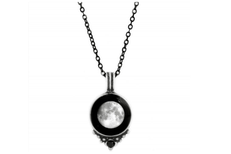 Moonglow Necklace Pewter