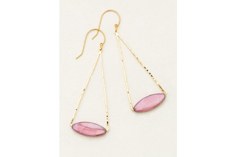 Holly Yashi - Collette Rose Large Drop Earrings