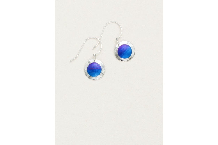 Holly Yashi - Silver Lulu Indigo Earrings
