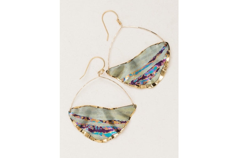 Holly Yashi - Bora Bora Sage Earrings