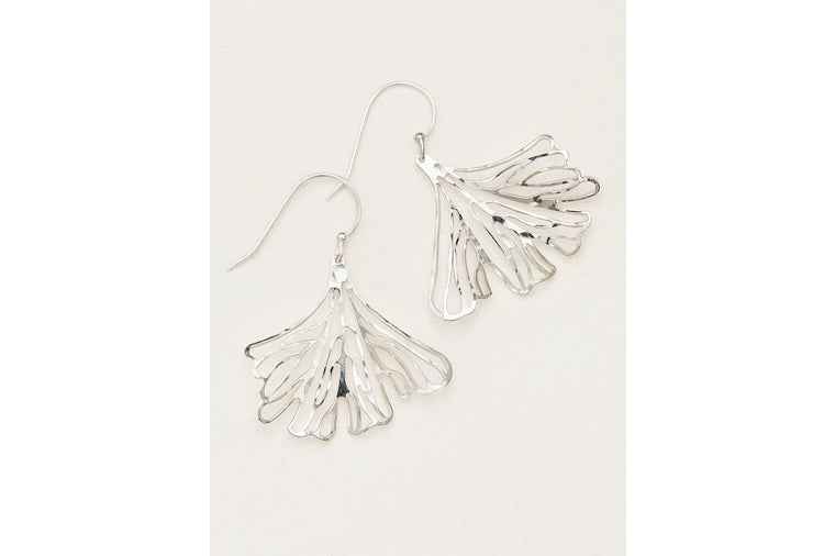 Holly Yashi - Maidenhair Earrings - Silver