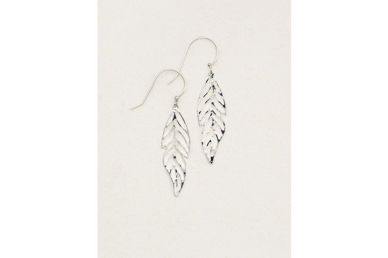 Holly Yashi - Plume Earrings - Silver
