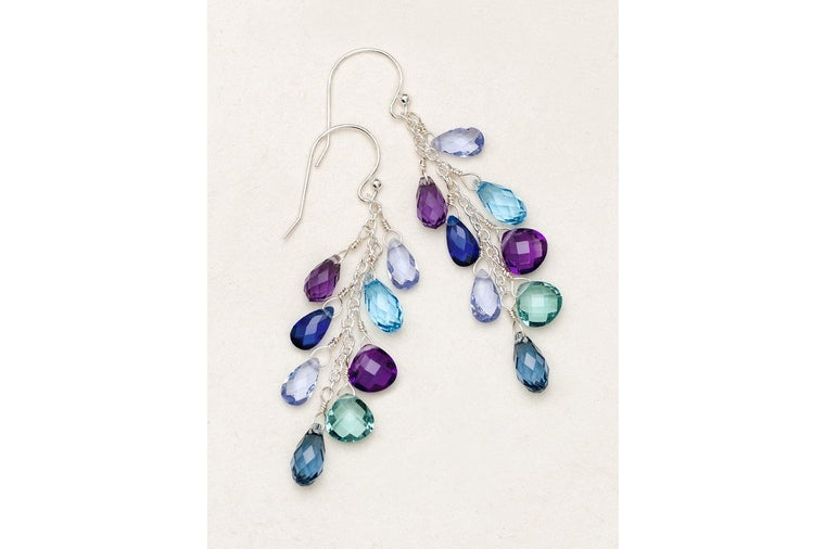 Holly Yashi - Lorelei Cluster Earrings - Atlantic