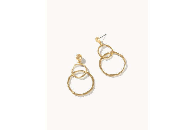 Spartina: Ring Toss Gold Earrings
