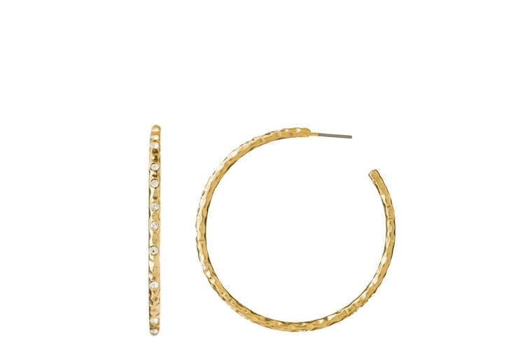 Spartina:  Fizz Hoop Earrings