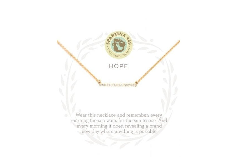 Spartina: Hope Necklace