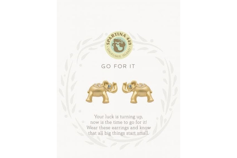 Spartina:  GO FOR IT! Earrings