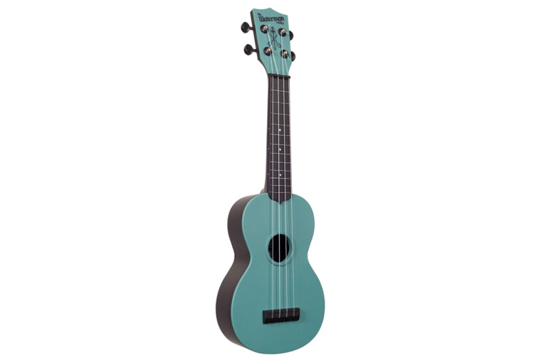 Glow in the Dark Aqua Matte Soprano Waterman Ukulele