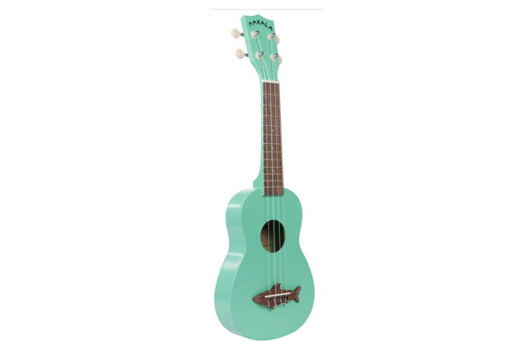 Surf Green Soprano Shark Ukulele