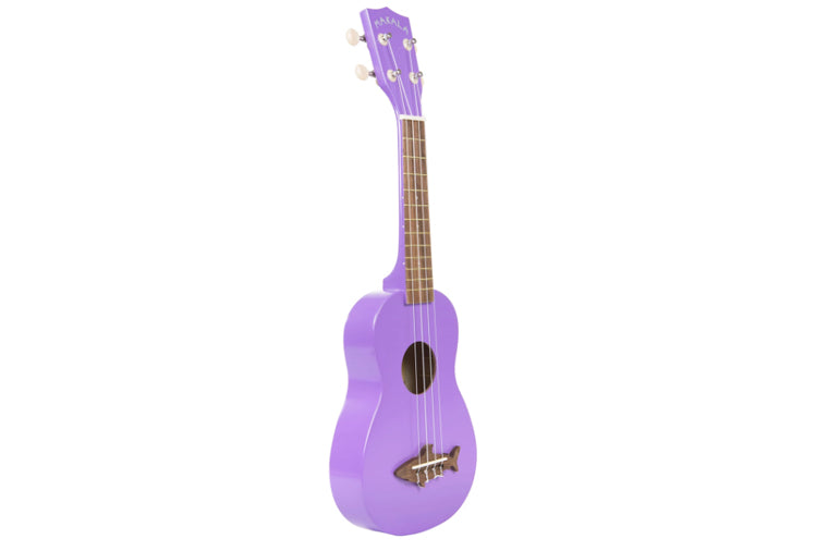 Sea Urchin Purple Soprano Shark Ukulele