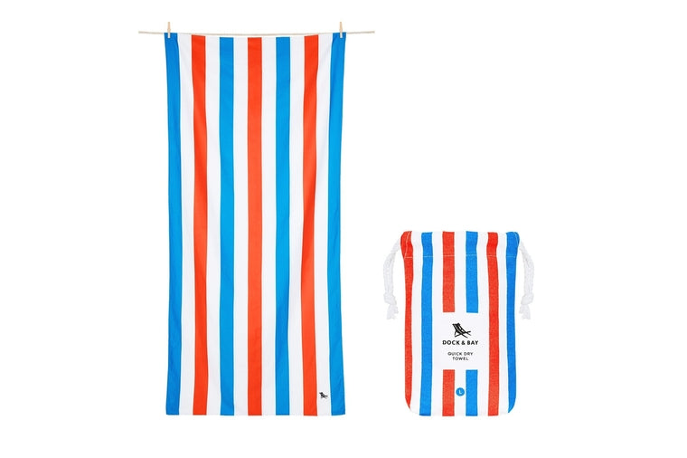 Poolside Stripe XL Beach Towel