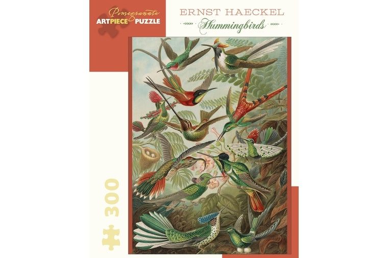 Ernst Haeckel: Hummingbirds Puzzle