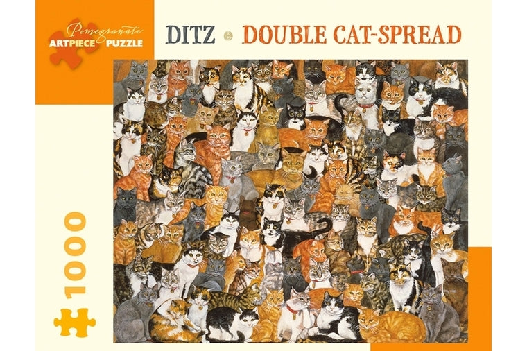 Double Cat Spread Puzzle