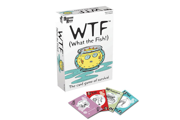 WTF (What the Fish!) Card Game