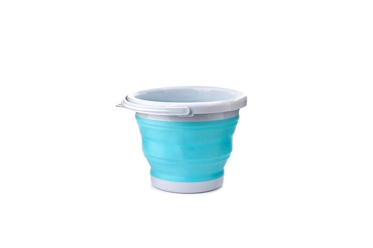 Kikkerland - Collapsible Bucket - Aqua