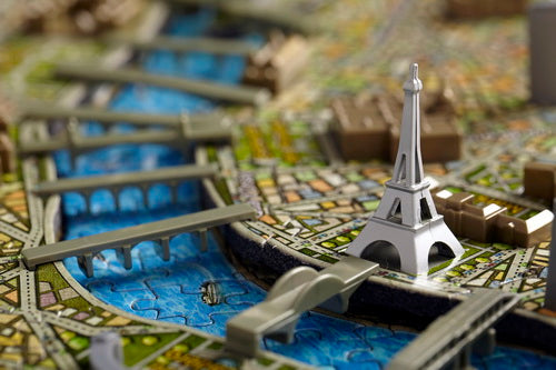 Paris, France Cityscape Puzzle
