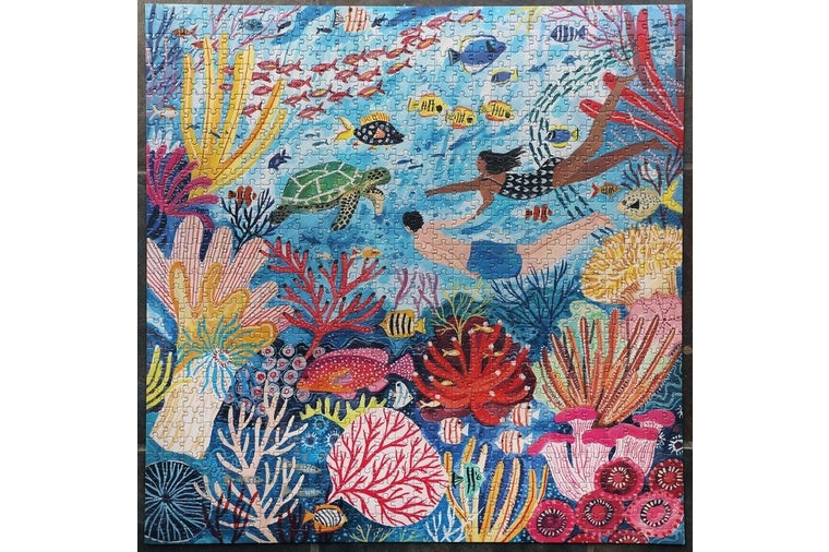 eeBoo - Coral Reef Puzzle - 1000 Pieces
