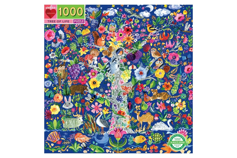 eeBoo - Tree of Life Puzzle