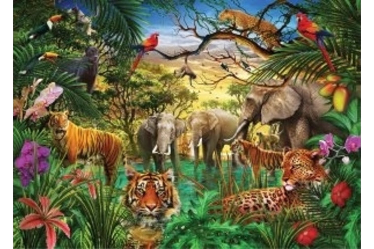 Peter Pauper Press - Jungle Life Puzzle