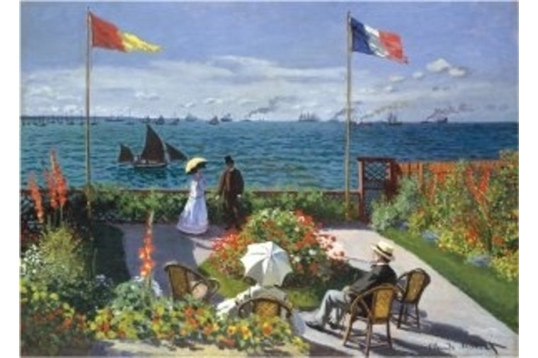 Peter Pauper Press - Garden at Sainte-Adresse Puzzle