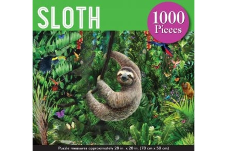 Peter Pauper Press - Sloth Puzzle