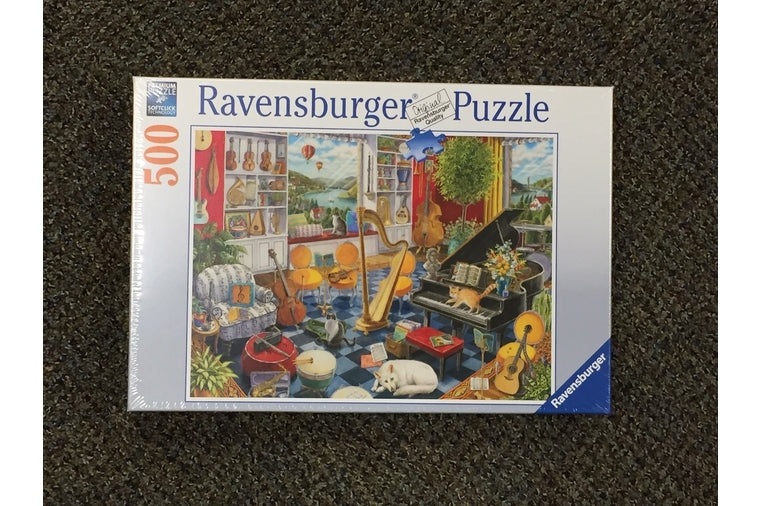 Ravensburger - The Music Room Puzzle - 500 Pieces