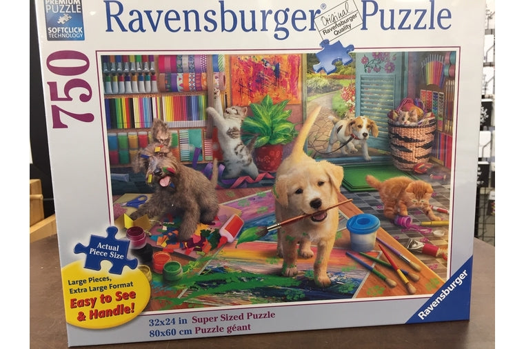 Ravensburger - Cute Crafters Puzzle - 750 Pieces