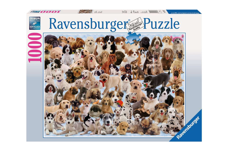 Ravensburger - Puzzle - Dog's Galore - 1000 pieces
