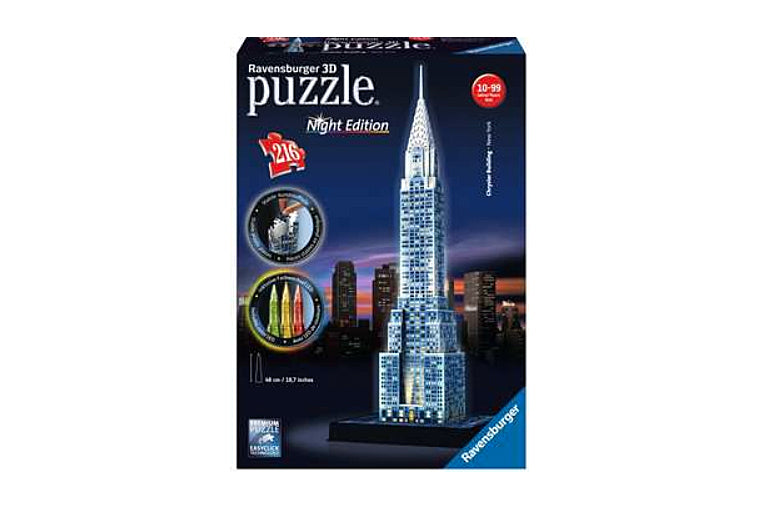 Chrysler Building Ravensburger 3D Puzzle - Night Edition