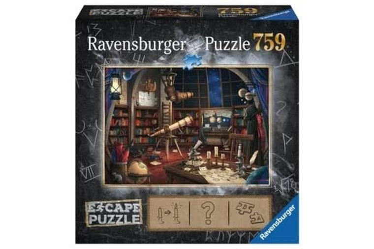 "Space Observatory ""Escape the Room"" Puzzle - Ravensburger"