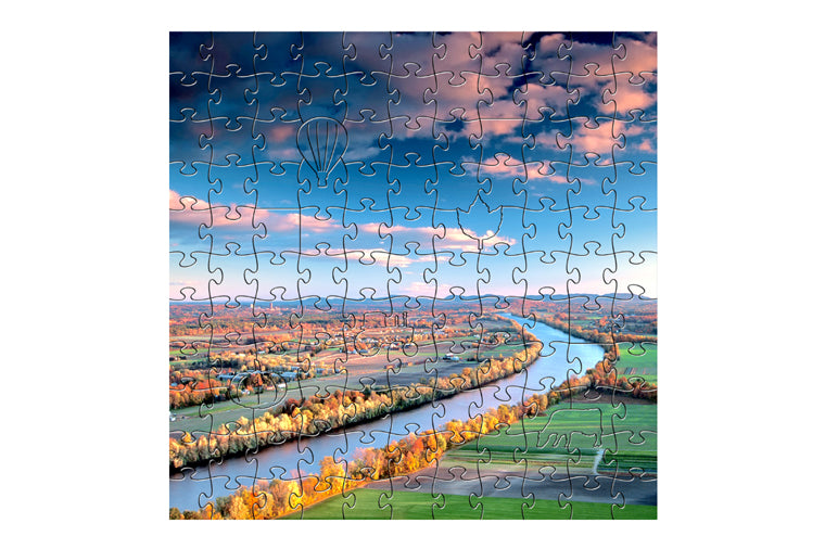 Connecticut River Small Zen Art Puzzle