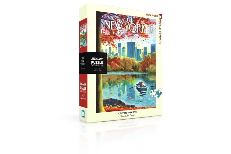 Central Park Row Puzzle, New York Puzzle Company