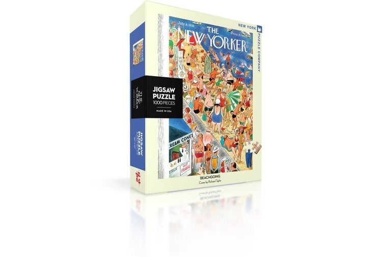 New Yorker Puzzle Beachgoing Puzzle