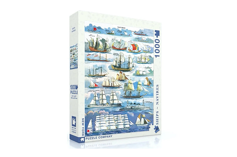 Navires - Ship Puzzle, New York Puzzle Company