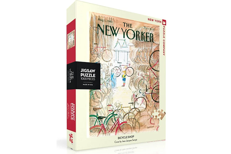 Bicycle Shop Puzzle - New Yorker Puzzles
