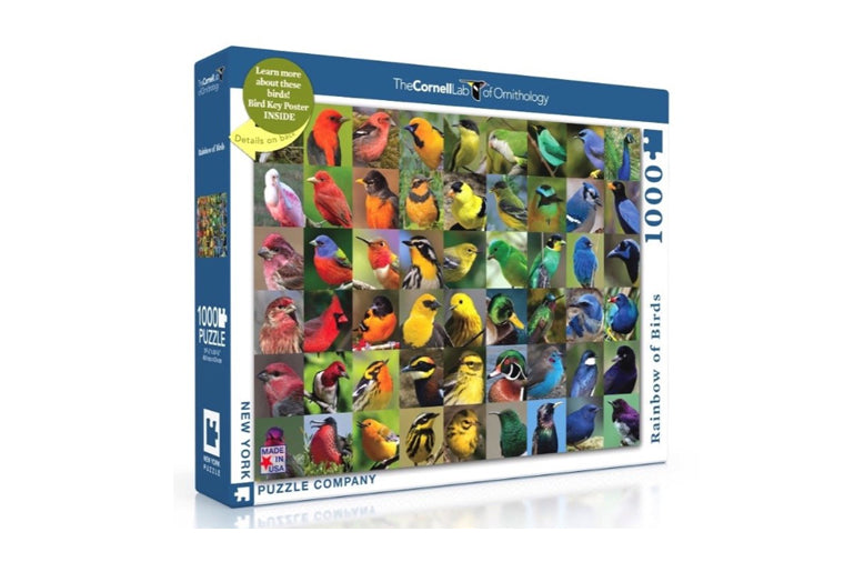 Rainbow of Birds Puzzle
