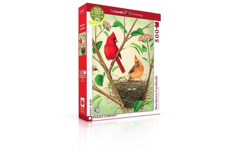 Northern Cardinals Puzzle, New York Puzzle Company
