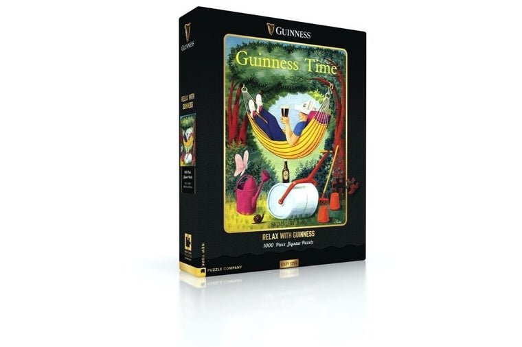 Relax with Guinness Puzzle, New York Puzzle Company