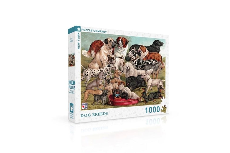 Dog Breeds Puzzle, New York Puzzle Company