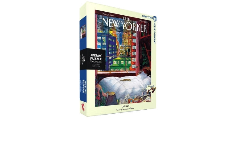 Cat Nap Puzzle, New York Puzzle Company