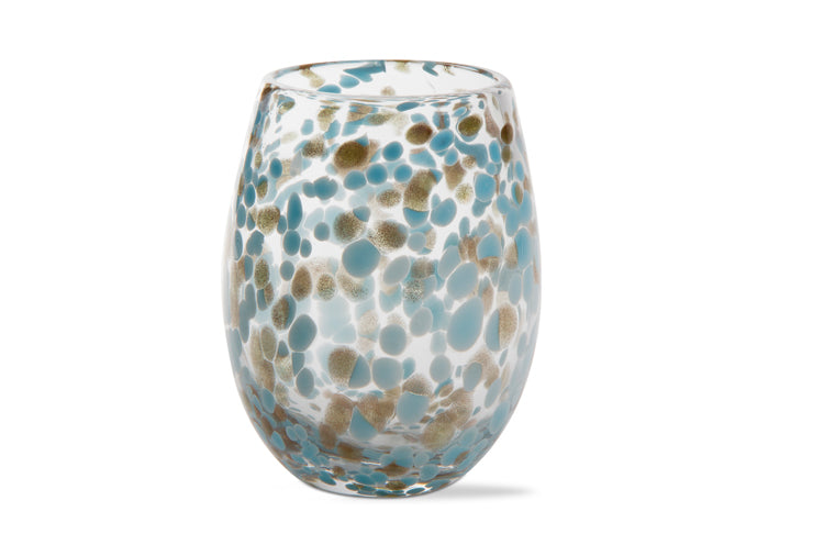 Confetti Stemless Wine Glass