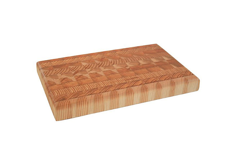 Small One Hander Larch Wood Cutting Board