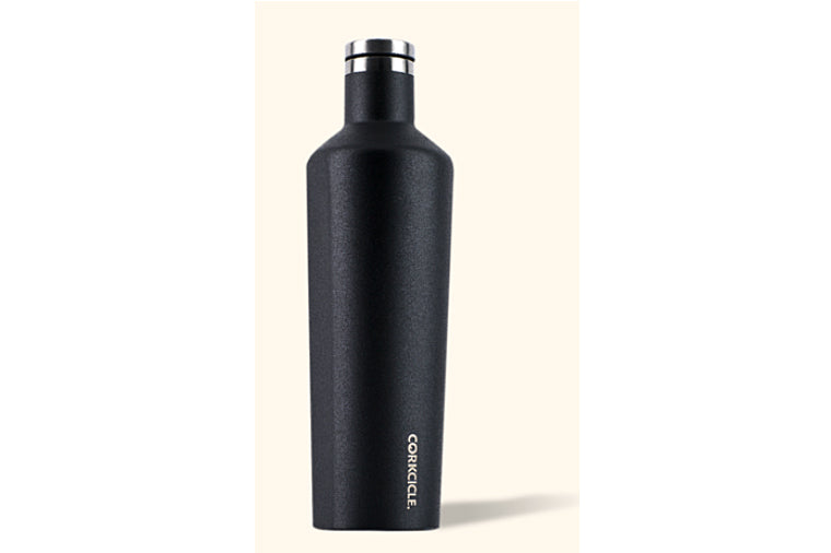 25 ounce Black Waterman Corkcicle Canteen